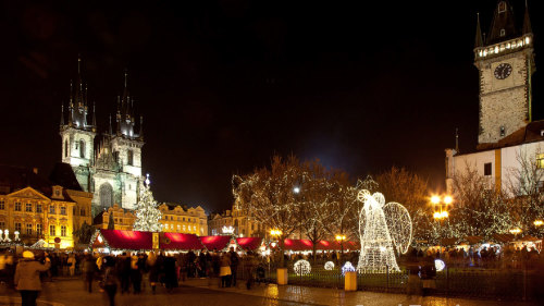 Prague Christmas Markets Walking Tour