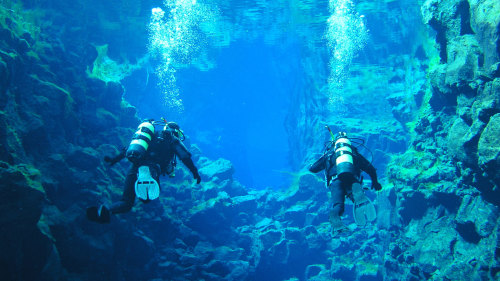 Silfra Fissure Diving Experience