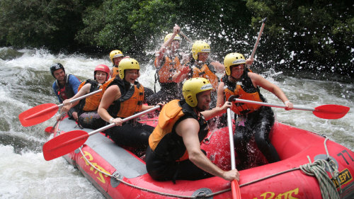 Rangitiaki River Rafting Adventure