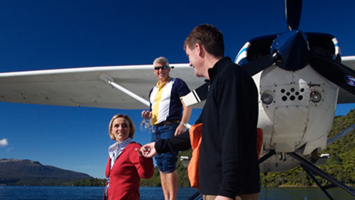 Mount Tarawera & Orakei Korako Floatplane by Volcanic Air Safaris