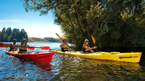 Lake Rotoiti Scenic Kayak Tour by Waimarino