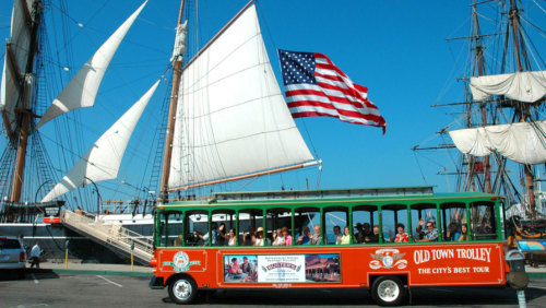 Historic Tours of America: Hop-On Hop-Off Trolley