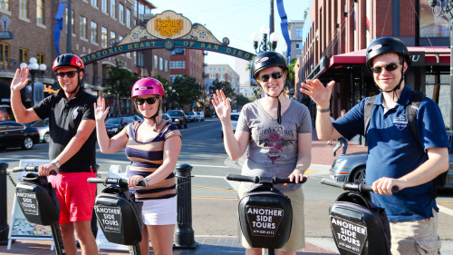 Gaslamp Quarter Segway® Tour by Another Side Tours