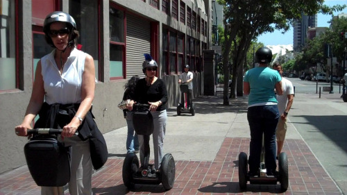 Introduction to Segways by Another Side Tours