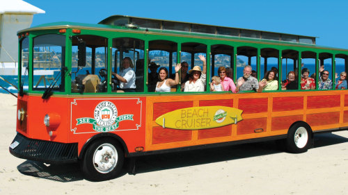 Hop-On Hop-Off La Jolla & Mission Beach Trolley