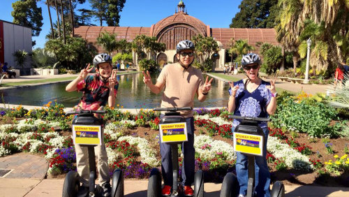 Balboa Park Private Segway Tour