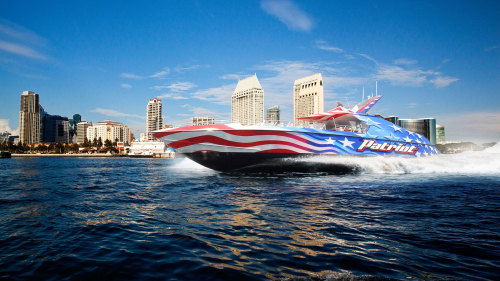 Patriot Jet Boat Sightseeing Ride by Flagship Cruises & Events