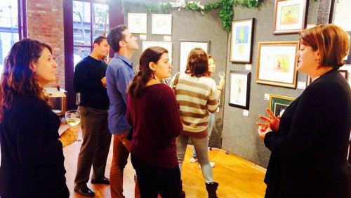 Private Winetasting & Art Tour in the Gaslamp Quarter by So Diego Tours