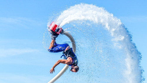 Flyboarding Ride: Individual Package by Fly Guys Watersports