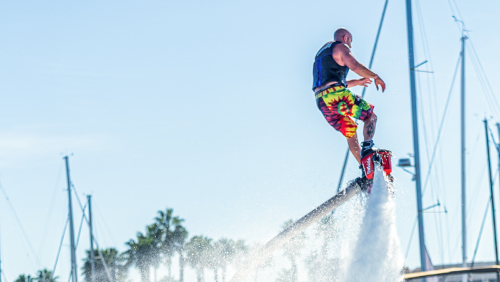Flyboarding Ride: Group Package by Fly Guys Watersports