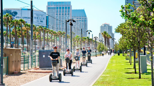 City & Waterfront Segway Tour by Another Side Tours