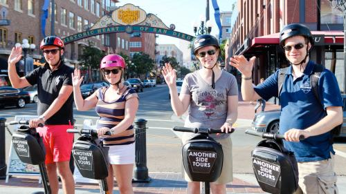 Downtown City Sights Segway Tour by Another Side Tours