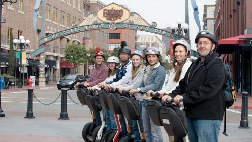 Gaslamp Quarter Segway & Food Tasting Tour by Another Side Tours