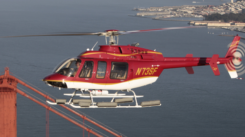 Vista Helicopter Tour by San Francisco Helicopter Tours