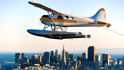 Evening Champagne Seaplane Flight by Seaplane Adventures