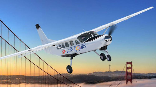 Airplane Tour of San Francisco, Oakland, Downtown & Sausalito by SF Air Tours
