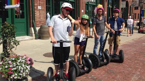 Segway of Ontario: Segway Tour of Distillery District