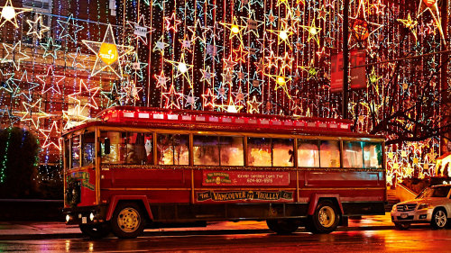 Christmas Lights & Carol Karaoke Trolley Tour