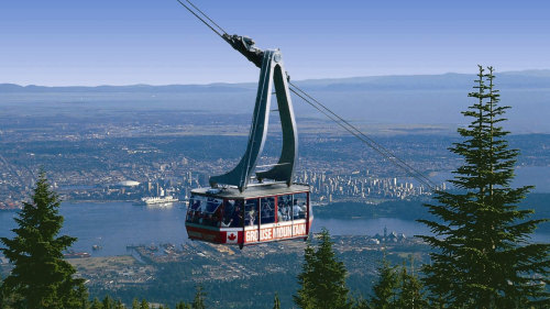 Sunset Trolley Tour to Grouse Mountain