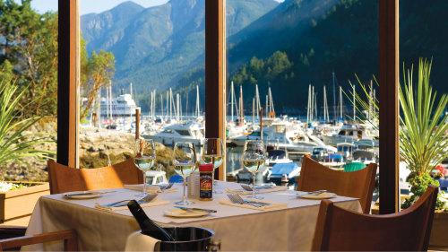Fly & Dine at Horseshoe Bay