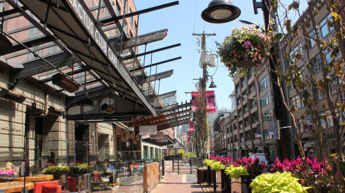Walking Tour of Yaletown & Granville Island