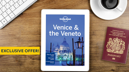 Get a Lonely Planet Venice & the Veneto eBook with all Venice 'Things to Do'