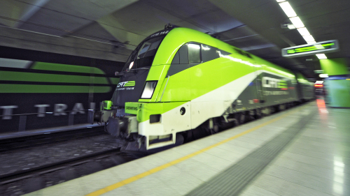 Train Transfer: Vienna Airport - Wien-Mitte Train Station