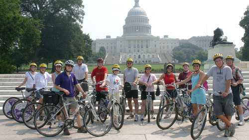Guided Bike Tour of Capital Sites
