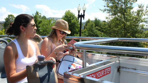 Hop-On Hop-Off Bus Tour with Multiple Attractions Pass