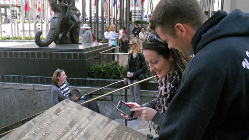 Smartphone-Guided City Scavenger Hunt